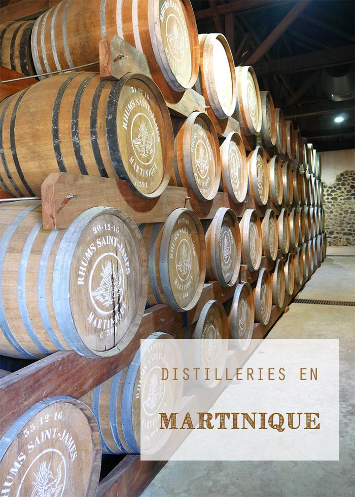 visite distilleries martinique rhum