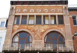 bruxelles art nouveau façade