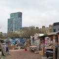 londres nomadic community gardens