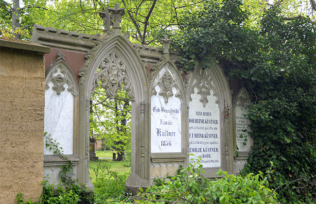 cimetière johannes leipzig