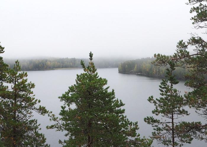 Finlande puumala lac