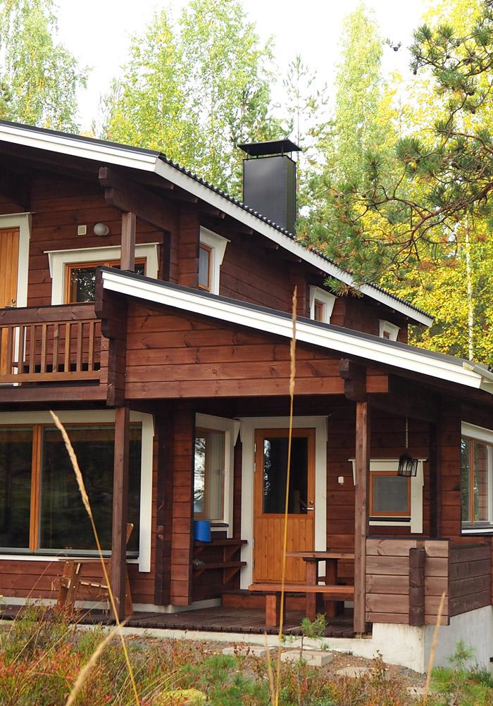 okkola summer cottage finlande