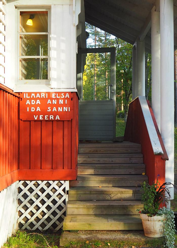 Sahanlahti resort villas Finlande