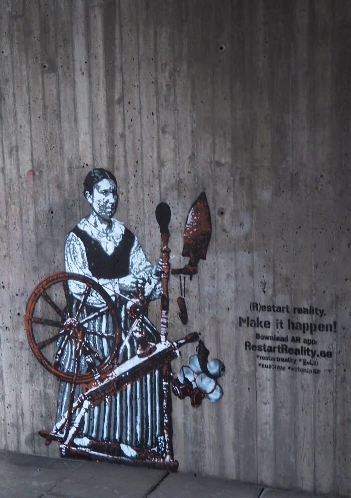 Edward von Longus Helsinki stencil
