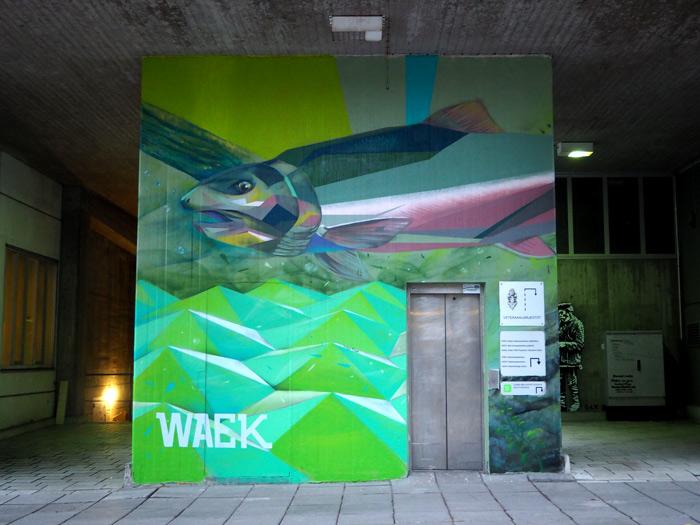 helsinki street art waek