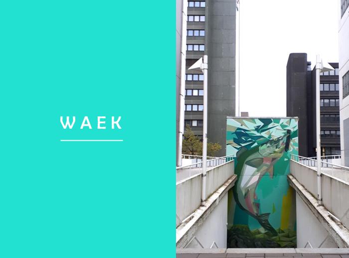 waek street art Helsinki