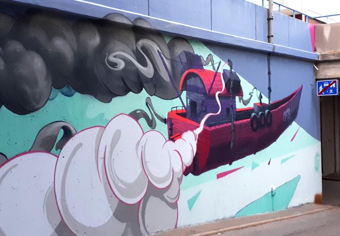 FatHeat street art Helsinki