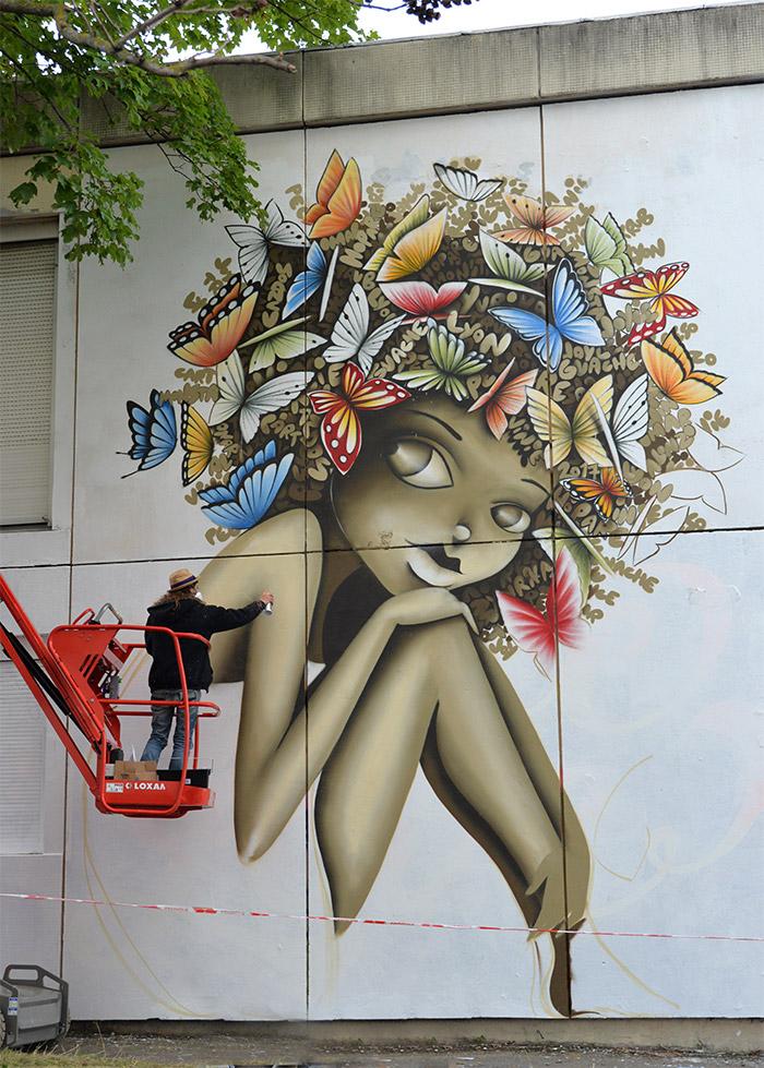 Lyon Vinie Trublyon streetart