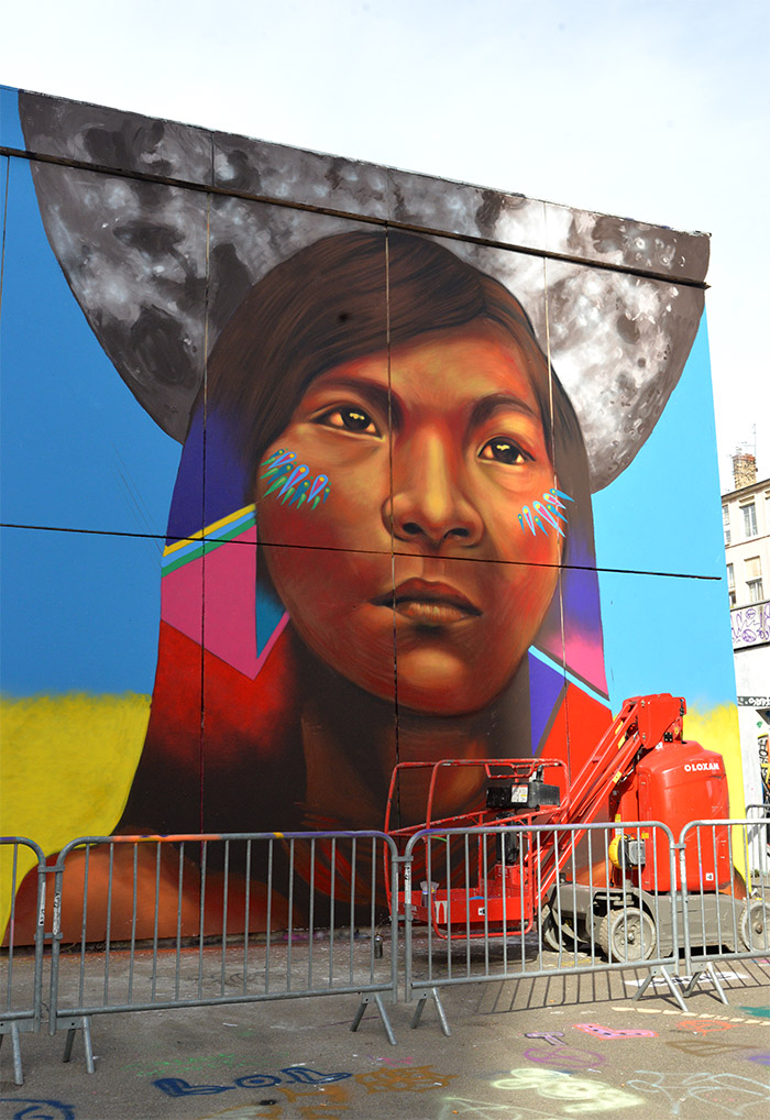 Trublyon Chuave streetart