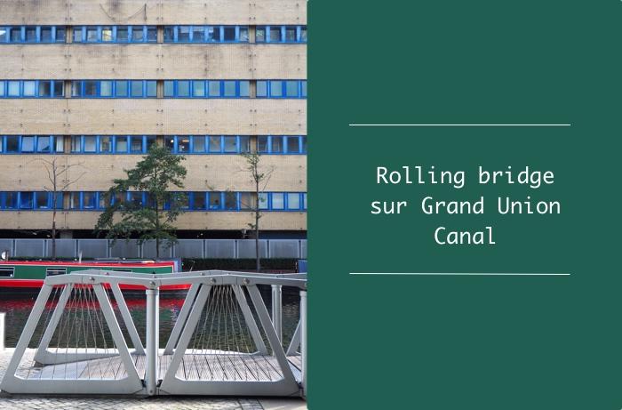rolling bridge canal paddington