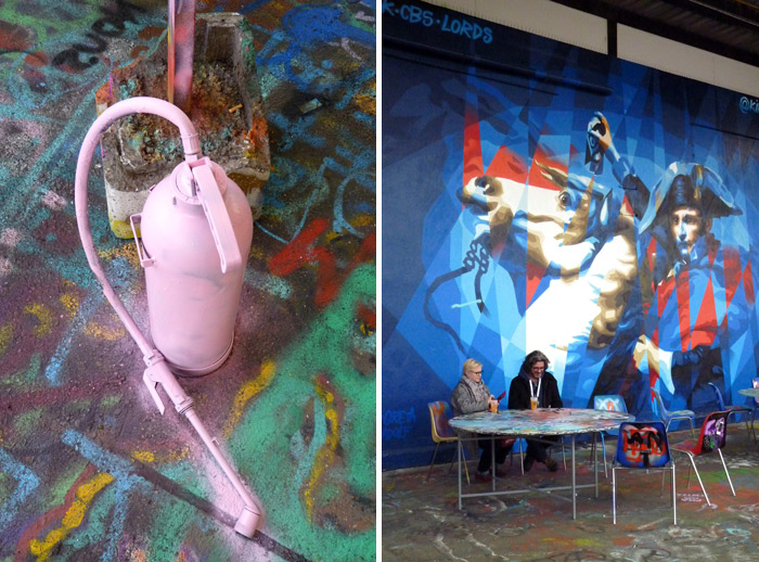 King Raptuz street art Napoleon