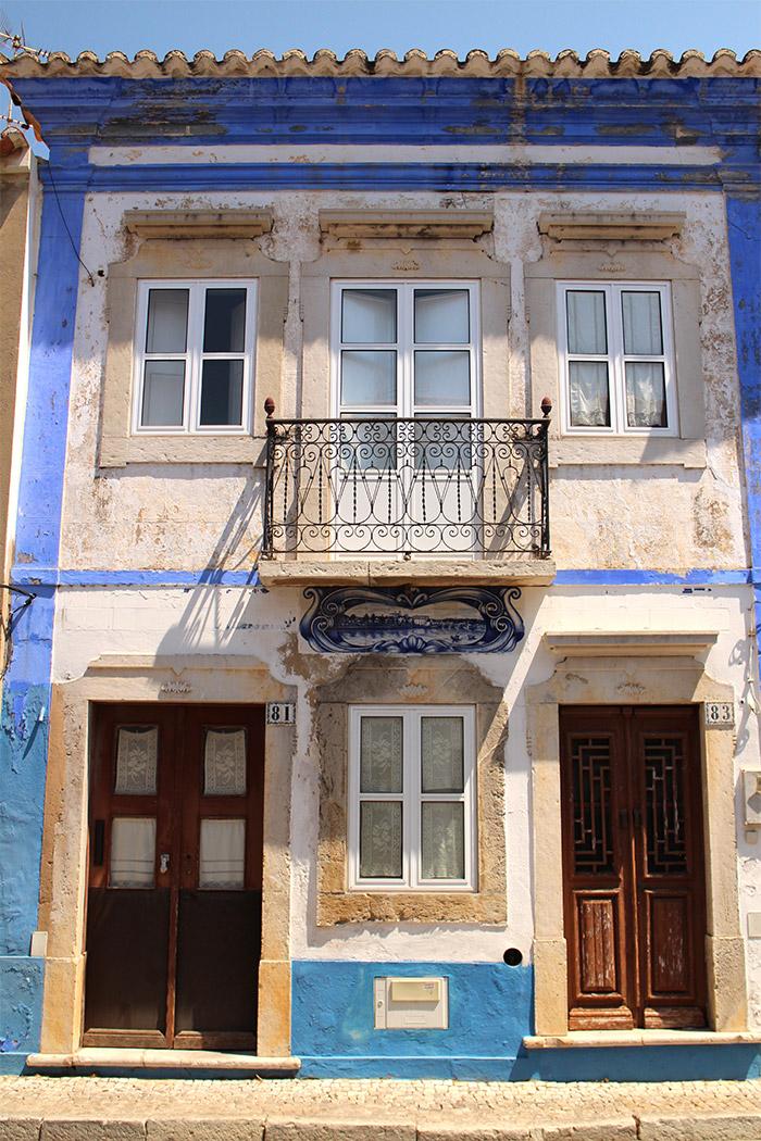 Portugal Tavira maison azulejos