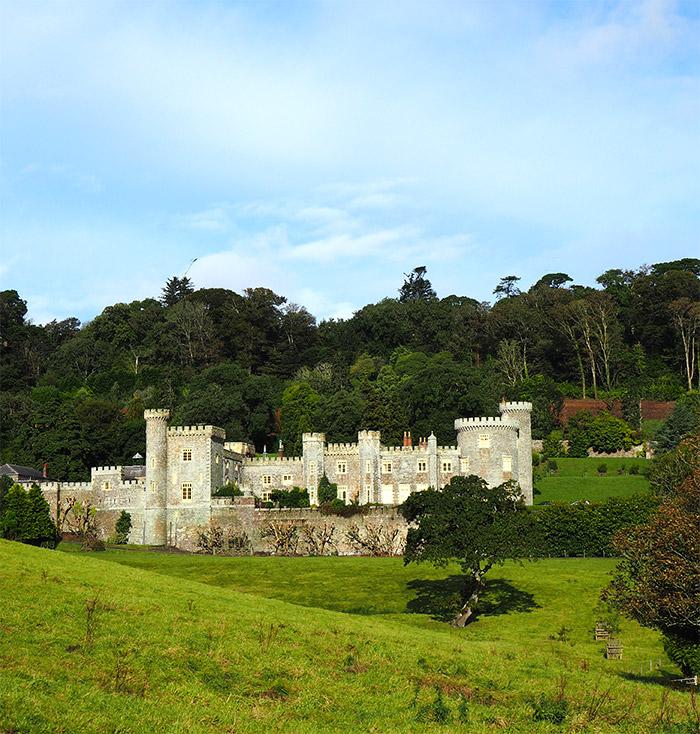 caerhays castle cornouailles