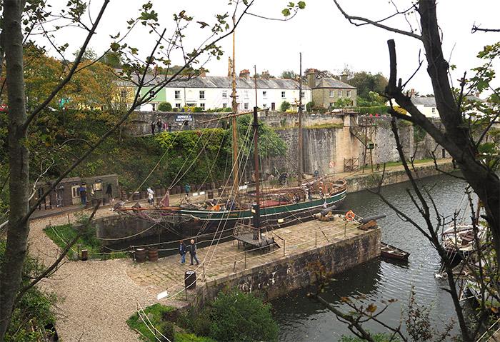 Cornwall Charlestown Port