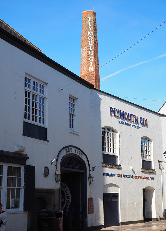 devon plymouth gin distillery