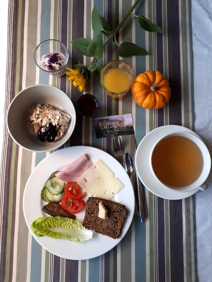 breakfast Sahanlahti Resort Finlande