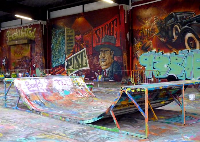 Paris aerosol art urbain