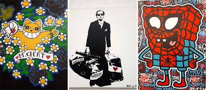 Paris Aerosol street art