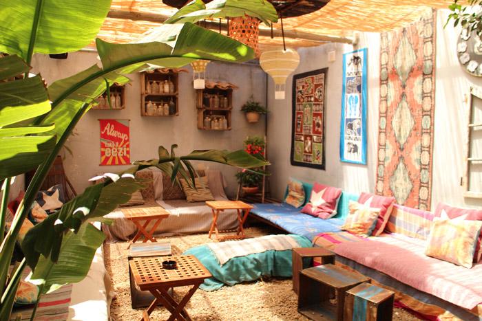 Portugal Lagos The garden restaurant