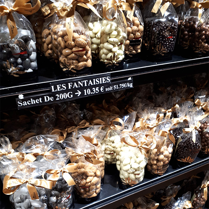 chocolats valrhona boutique