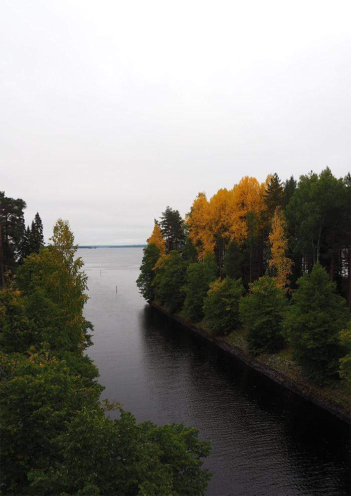 Finlande Linnansaari national park