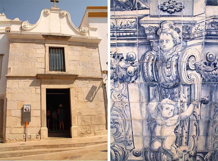 Algarve Nossa Senhora piedade  eglise