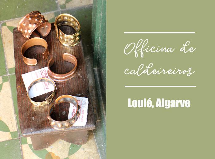 Algarve Loulé cuivre laiton artisan