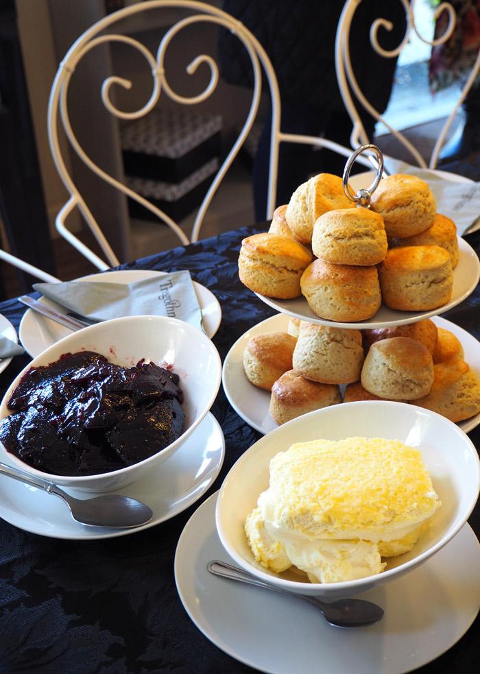 cream tea scones Tregothnan