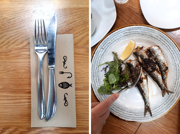 CORNWALL TRuro Hooked restaurant poisson
