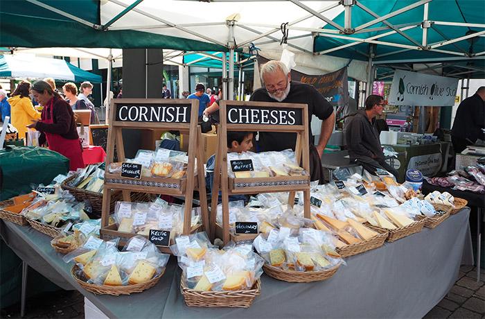 cornish fromage angleterre Truro