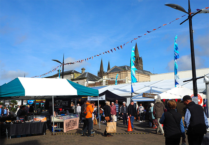 cornish food festival Truro