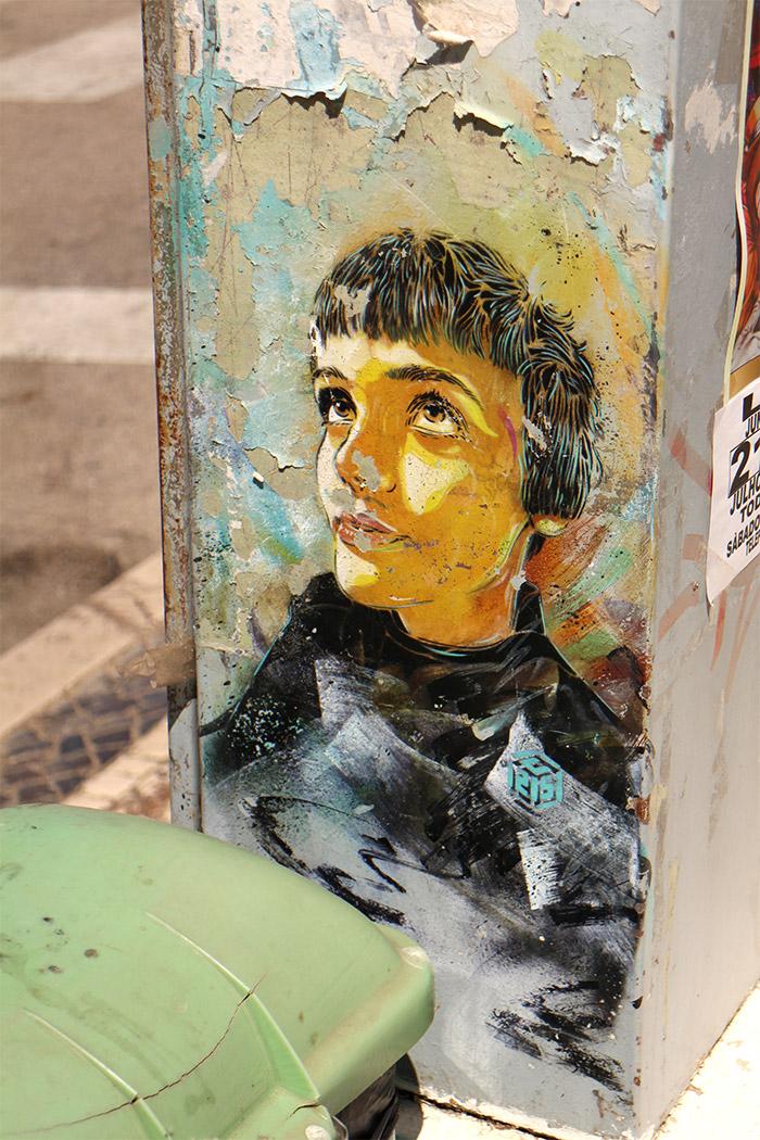 Lagos C215 street art