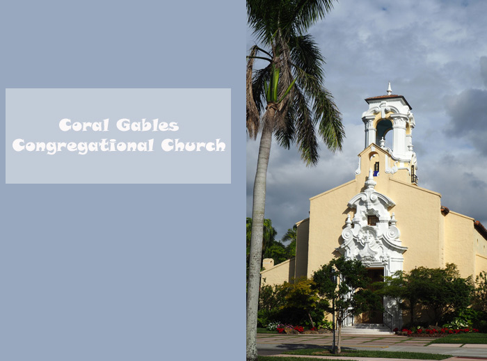Miami congregational eglise Coral Gables