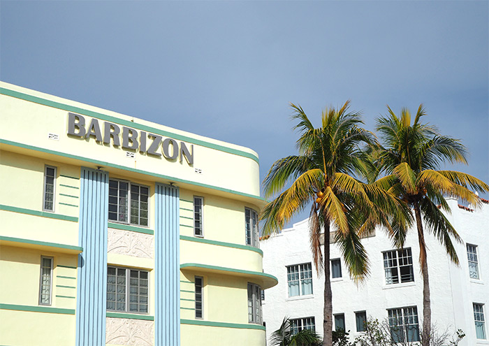 miami art deco barbizon hotel
