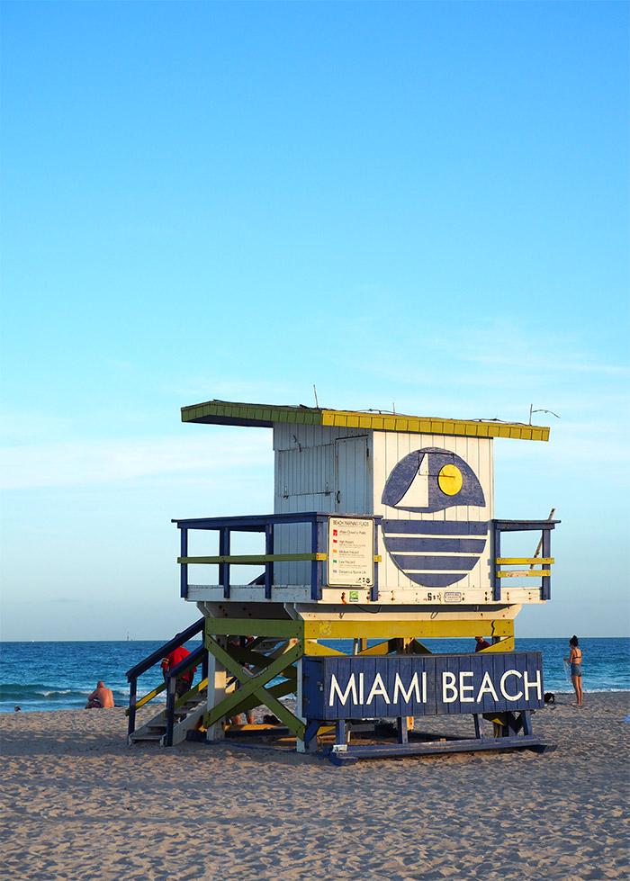Miami beach cabanes plage