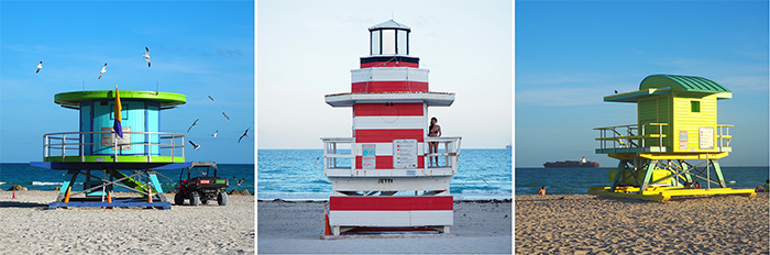 lifeguard huts miami beach