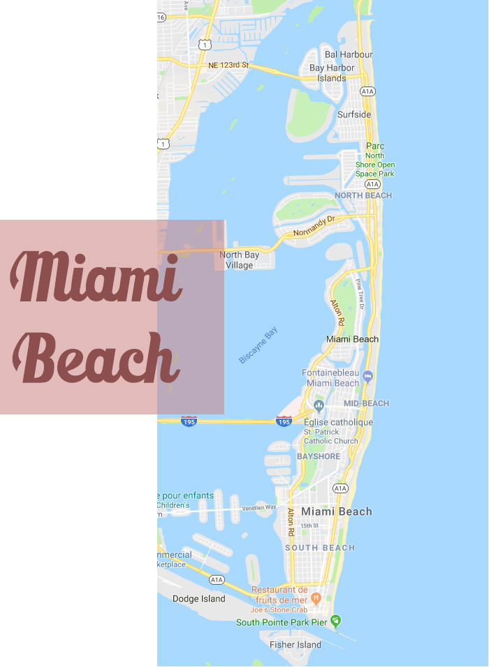 Miami beach carte