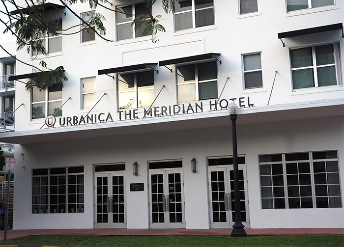 Miami urbanica the meridian hotel