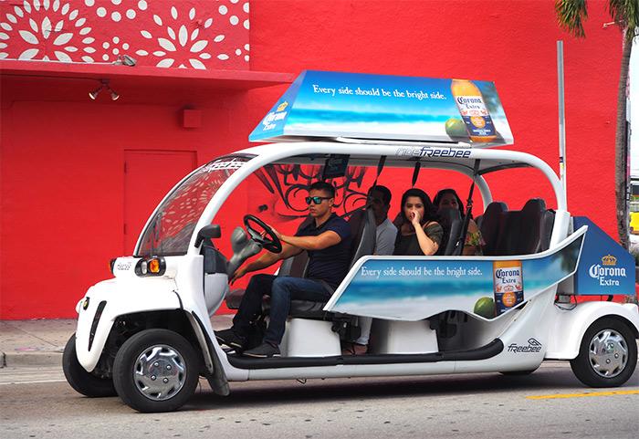 Miami wynwood voiture électrique