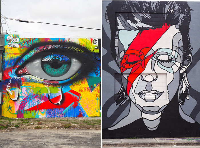 Miami street art Wynwood Bowie