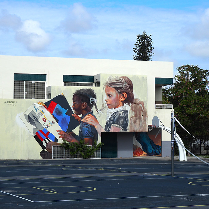 Case McClaim eneda elementary school wynwood