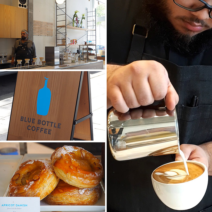 Blue bottle cafe Miami Design District