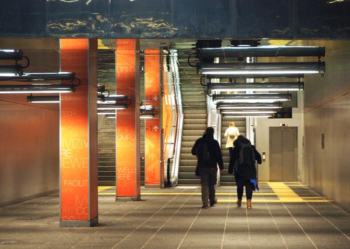 Naples metro station Garibaldi