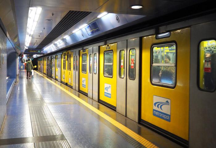 Naples metro ligne 1