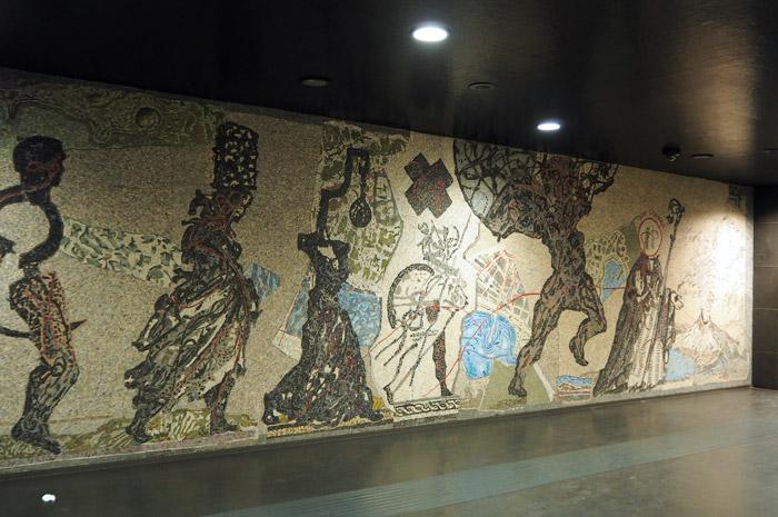Naples station Toledo