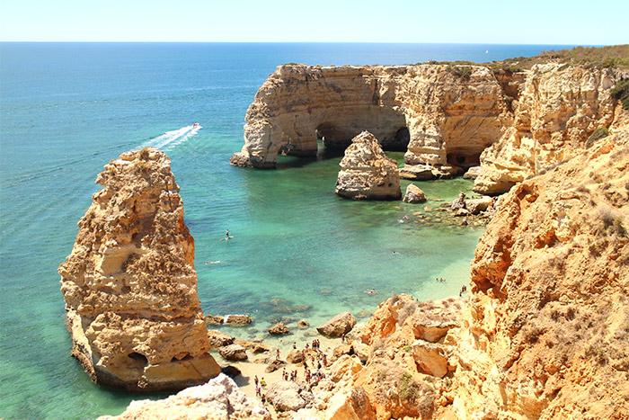 plage de Marinha Algarve