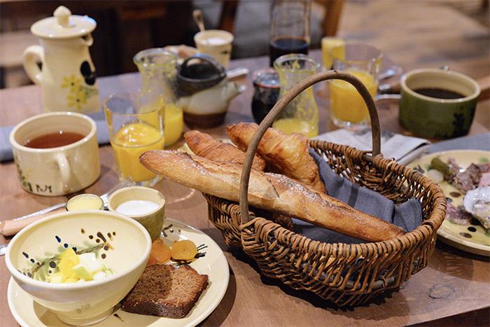 La Bouitte petit déjeuner