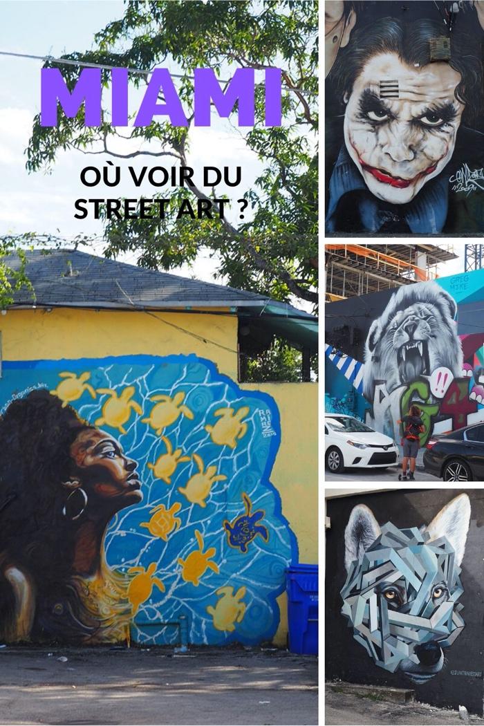 où voir du street art à Miami ?