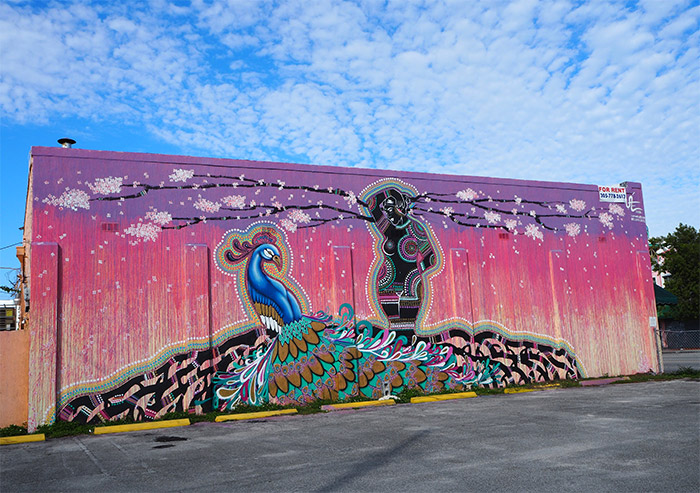 Luis Valle street art Miami