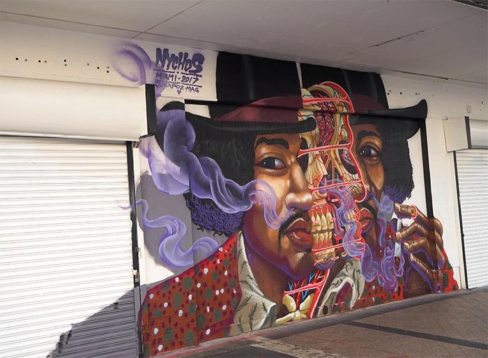 Nychos Miami street art